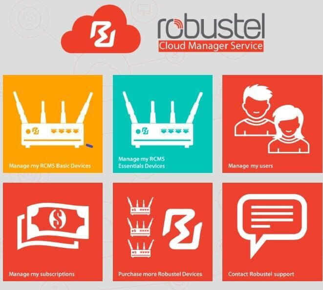 Robustel Cloud Manager Service